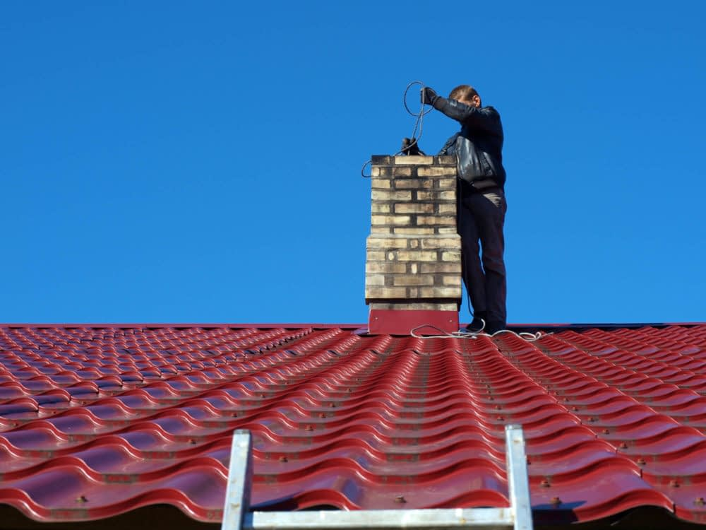 Clean your chimney and remember to do regular maintenance